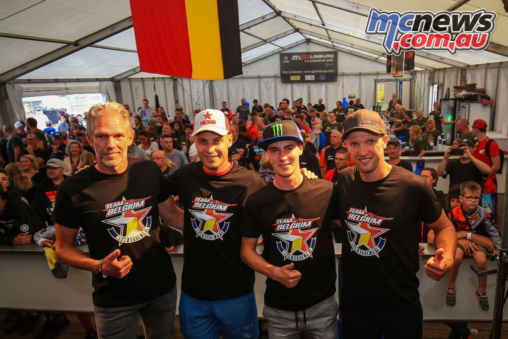 MX of Nations Tam Belgium Announced BEL