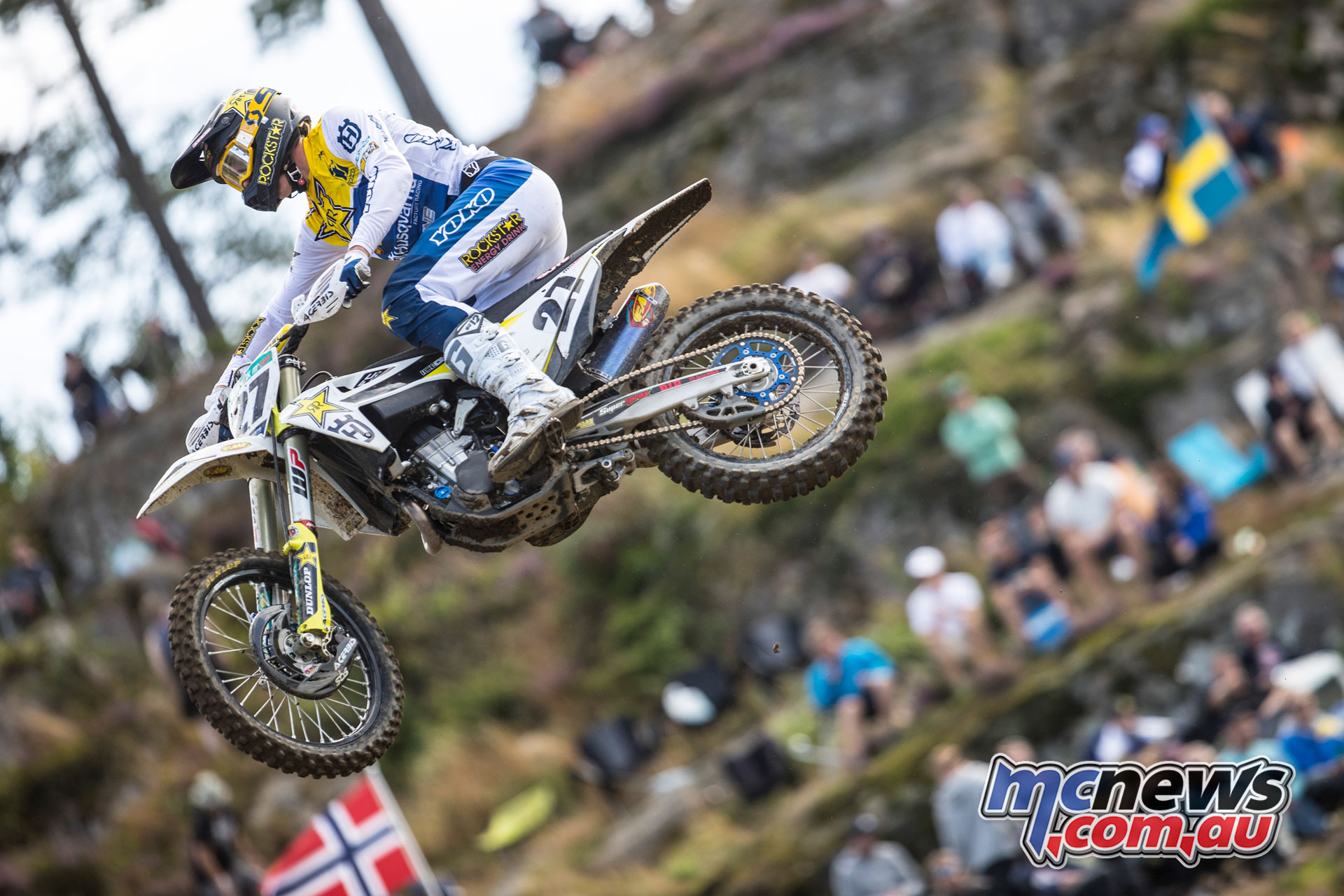 MXGP Sweden Rnd Uddevalla Arminas Jasikonis Rockstar Energy Husqvarna Factory Racing