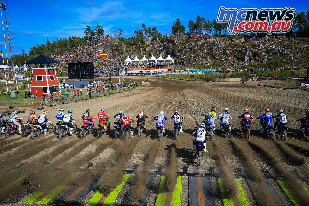 MXGP Sweden Rnd Uddevalla EMX Start