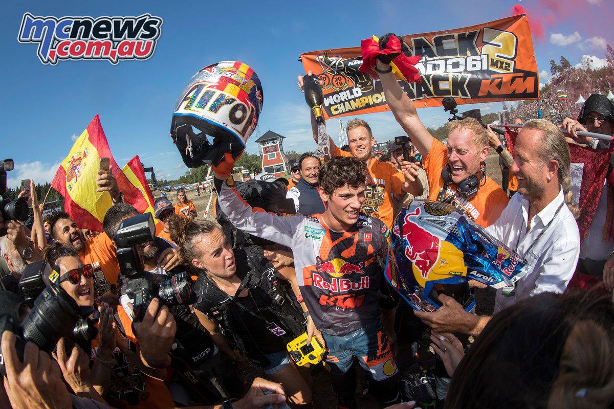 MXGP Sweden Rnd Uddevalla Jorge Prado KTM SX F World Champion