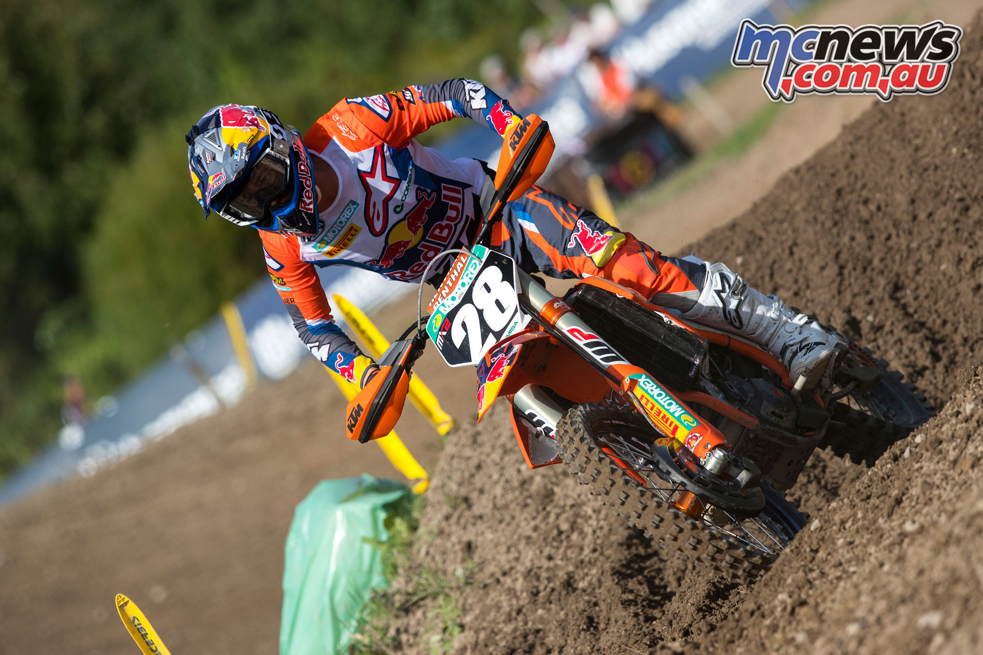 MXGP Sweden Rnd Uddevalla Tom Vialle KTM SX F Uddevalla