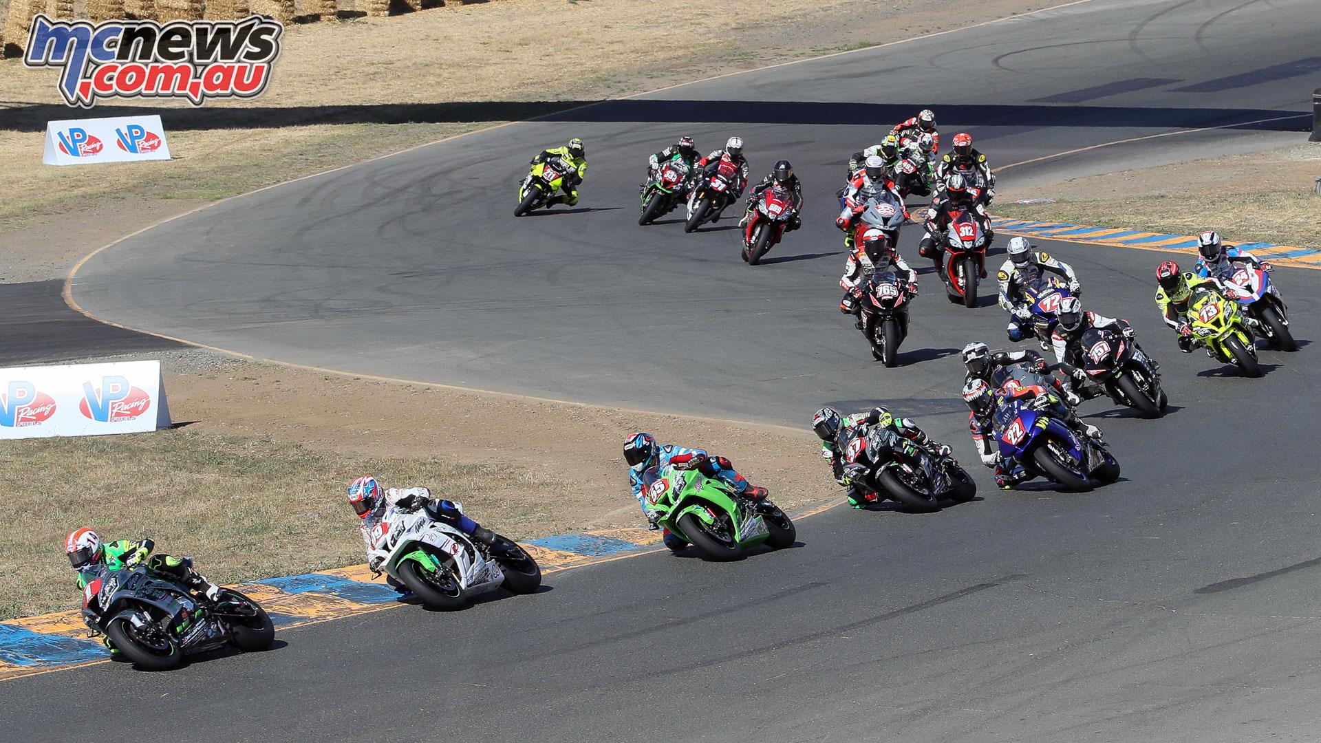 MotoAmerica Rnd Sonoma STK Field Sunday BJN P