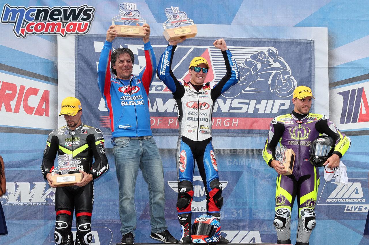 MotoAmerica Rnd Pittsburgh Sat Supersport Sean Dylan Kelly