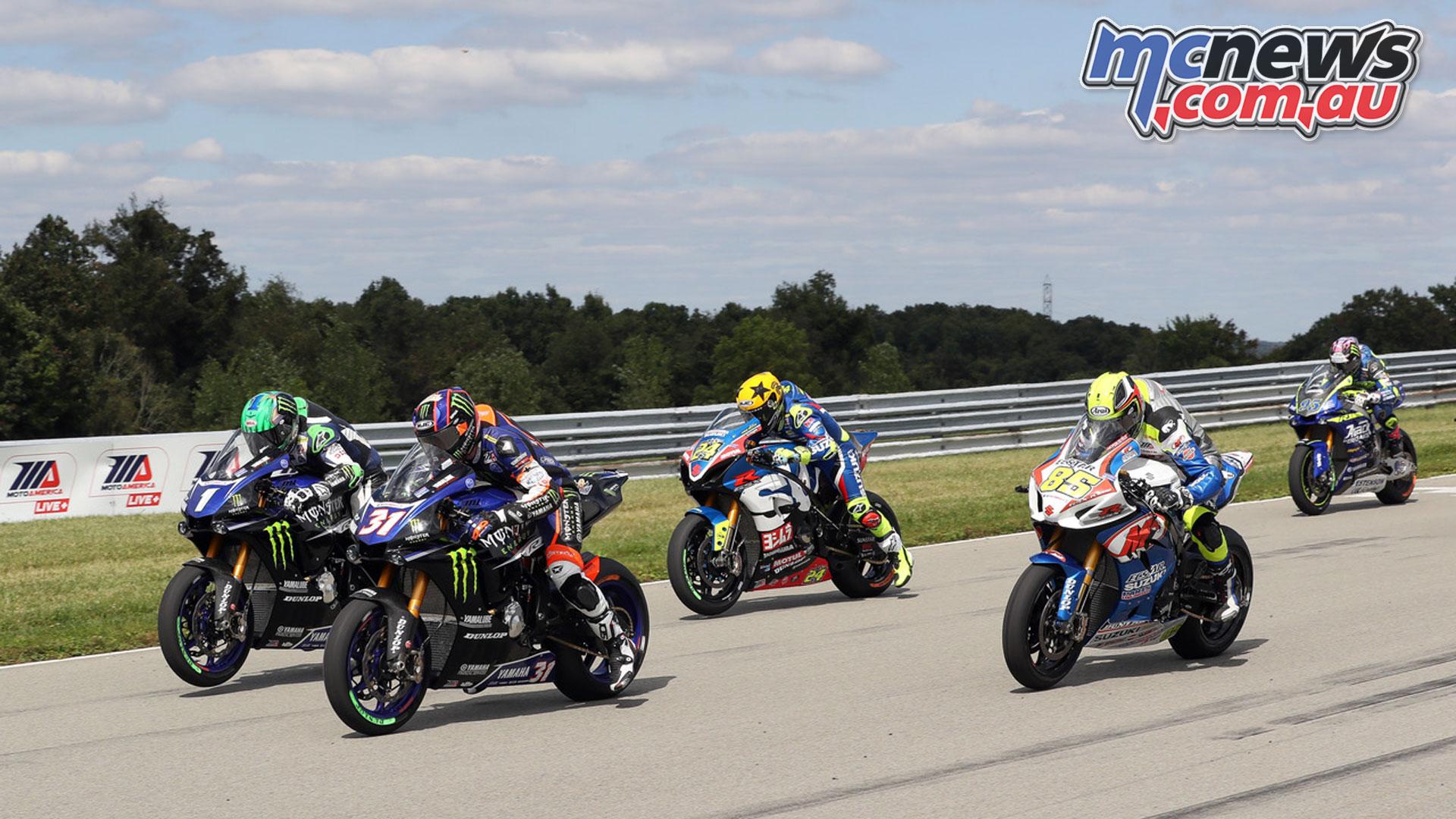 MotoAmerica Rnd Pittsburgh Sunday Superbike Garrett Gerloff