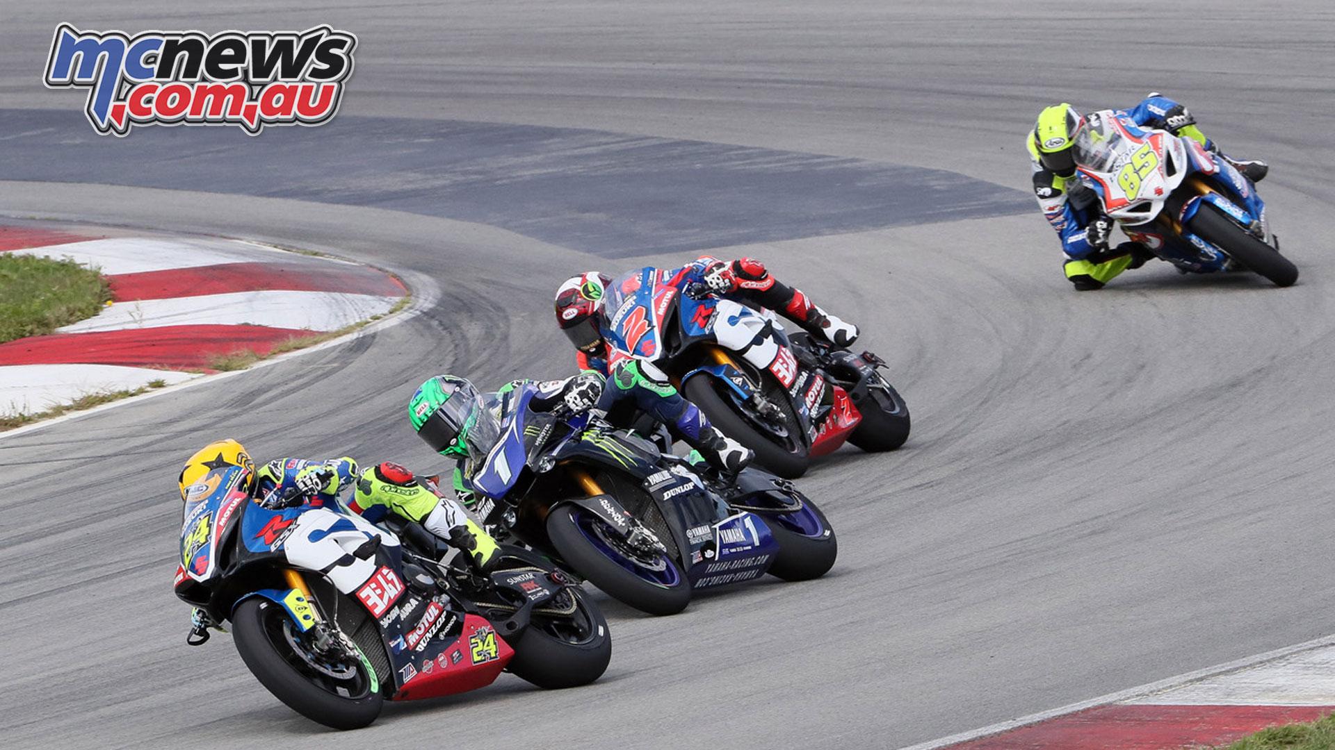 MotoAmerica Rnd Pittsburgh Sunday Superbike Toni Elias