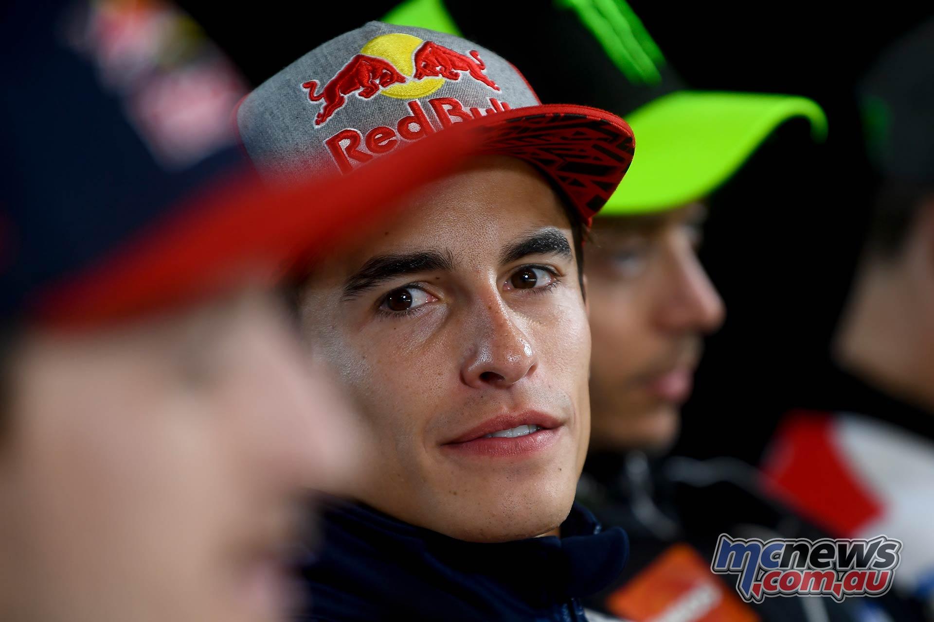 MotoGP Austria Pre Marquez