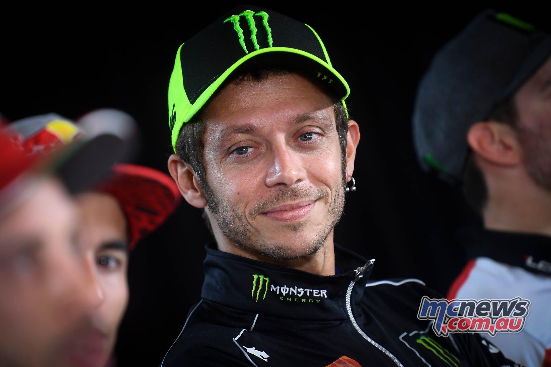 MotoGP Austria Pre Rossi