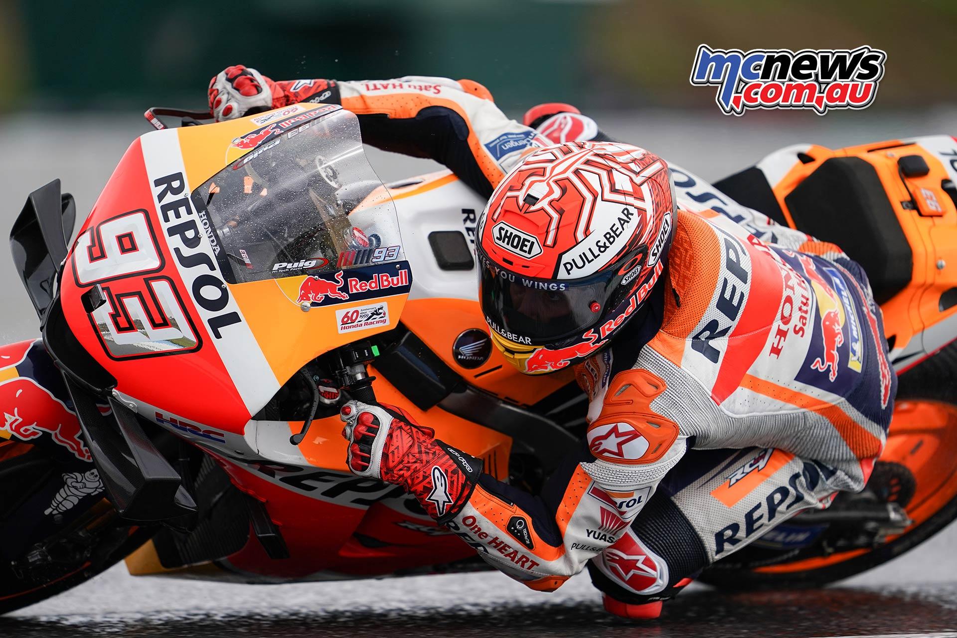 MotoGP Brno QP Marquez