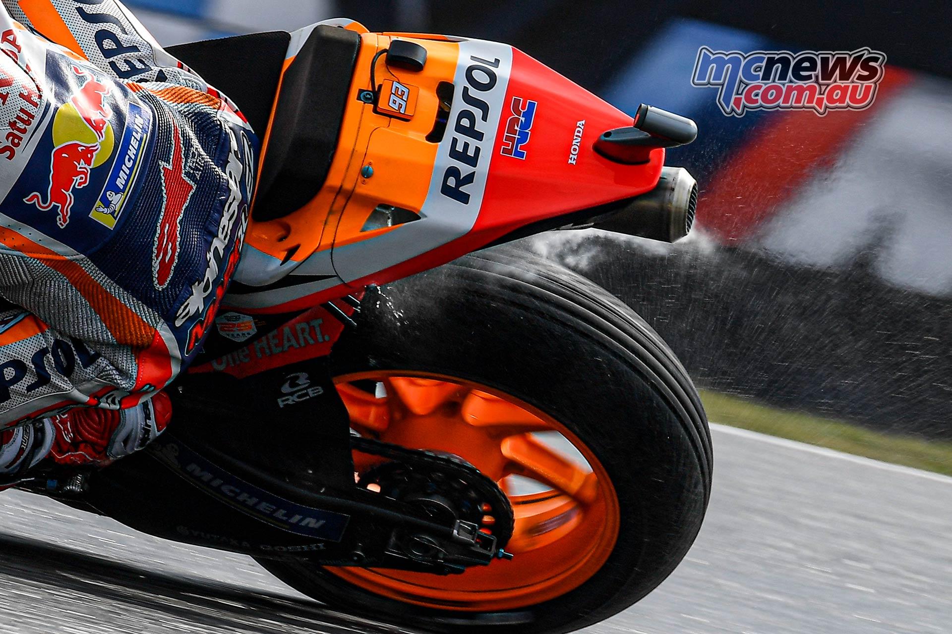 MotoGP Brno QP Marquez Michelin