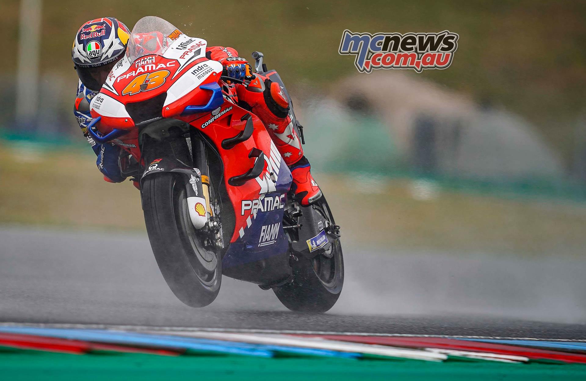 MotoGP Brno QP Miller