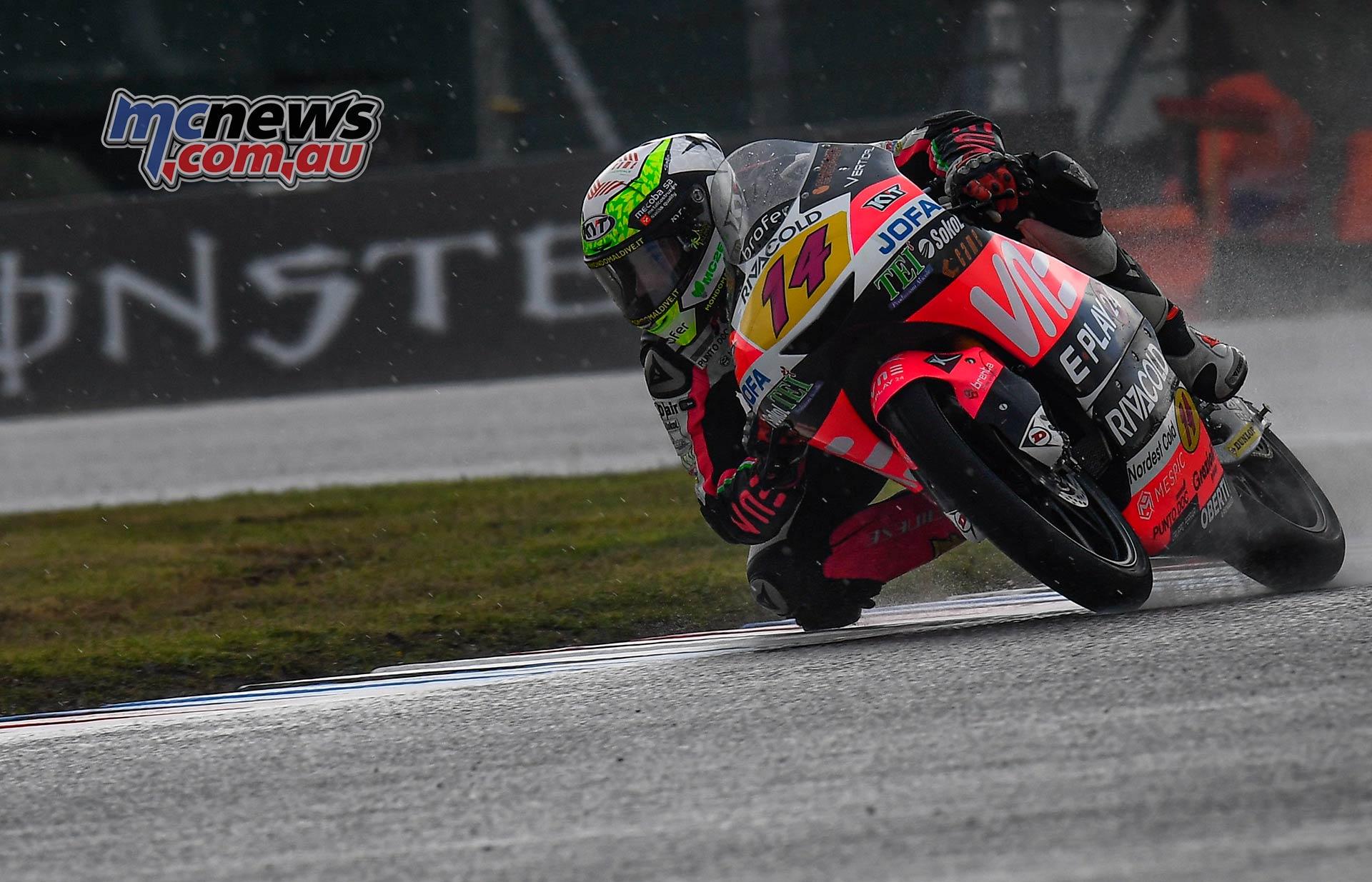 MotoGP Brno QP Moto Tony Arbolino