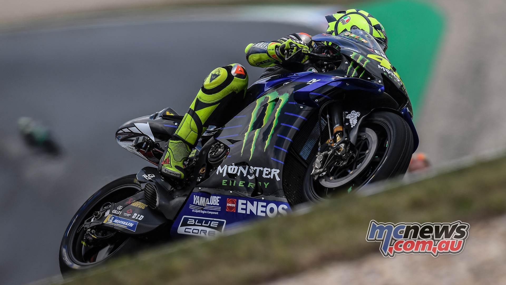 MotoGP Brno QP Rossi