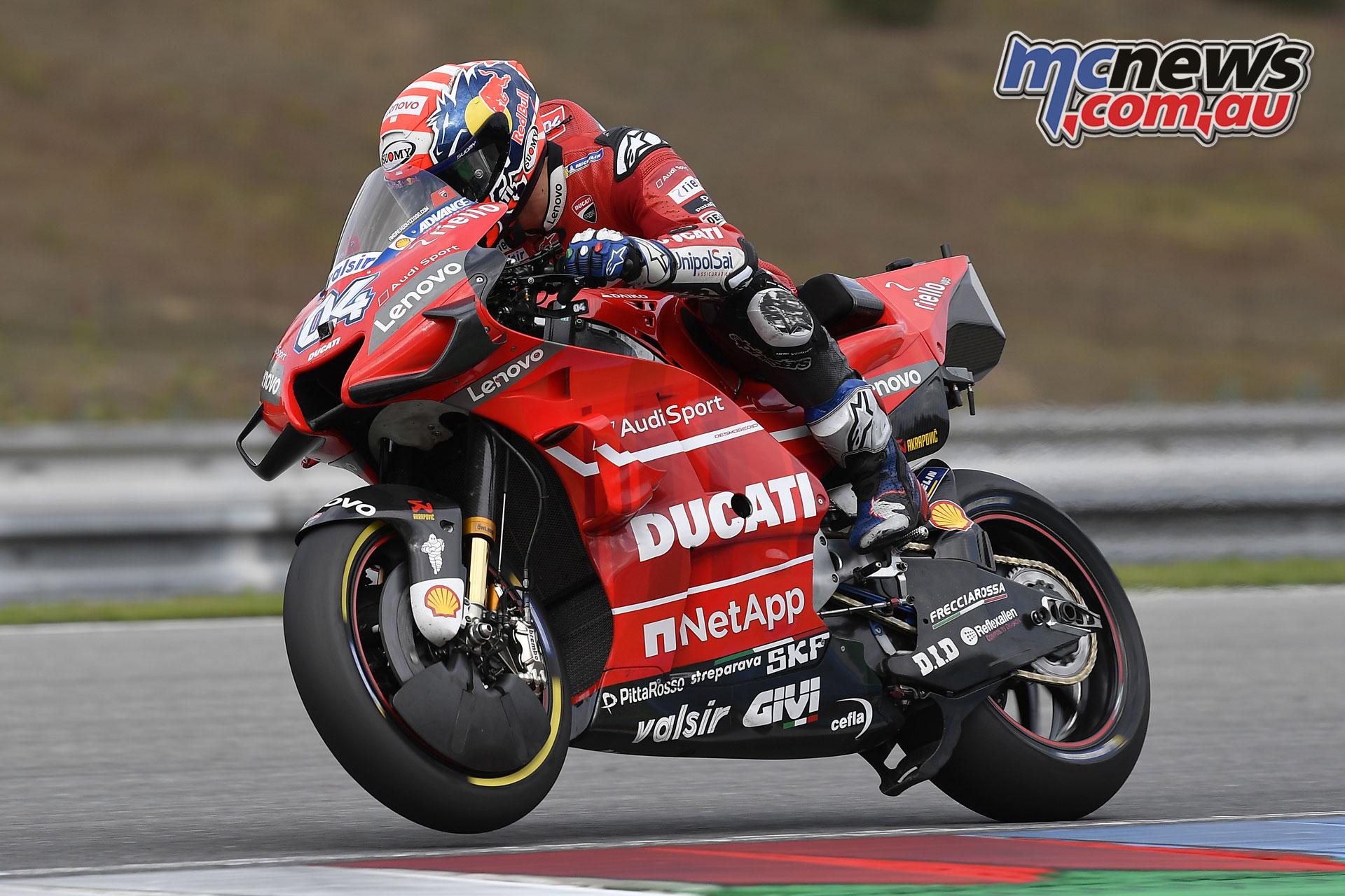 MotoGP Brno Test Andrea Dovizioso
