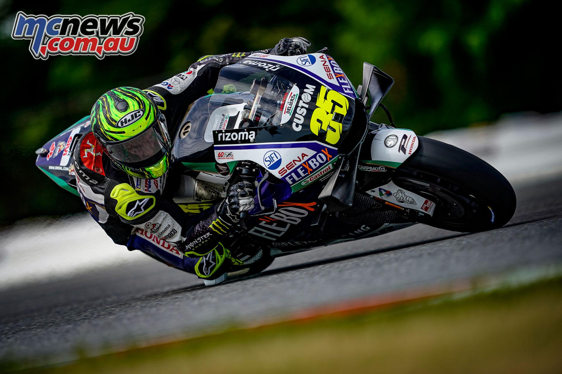 MotoGP Brno Test Cal Crutchlow AX