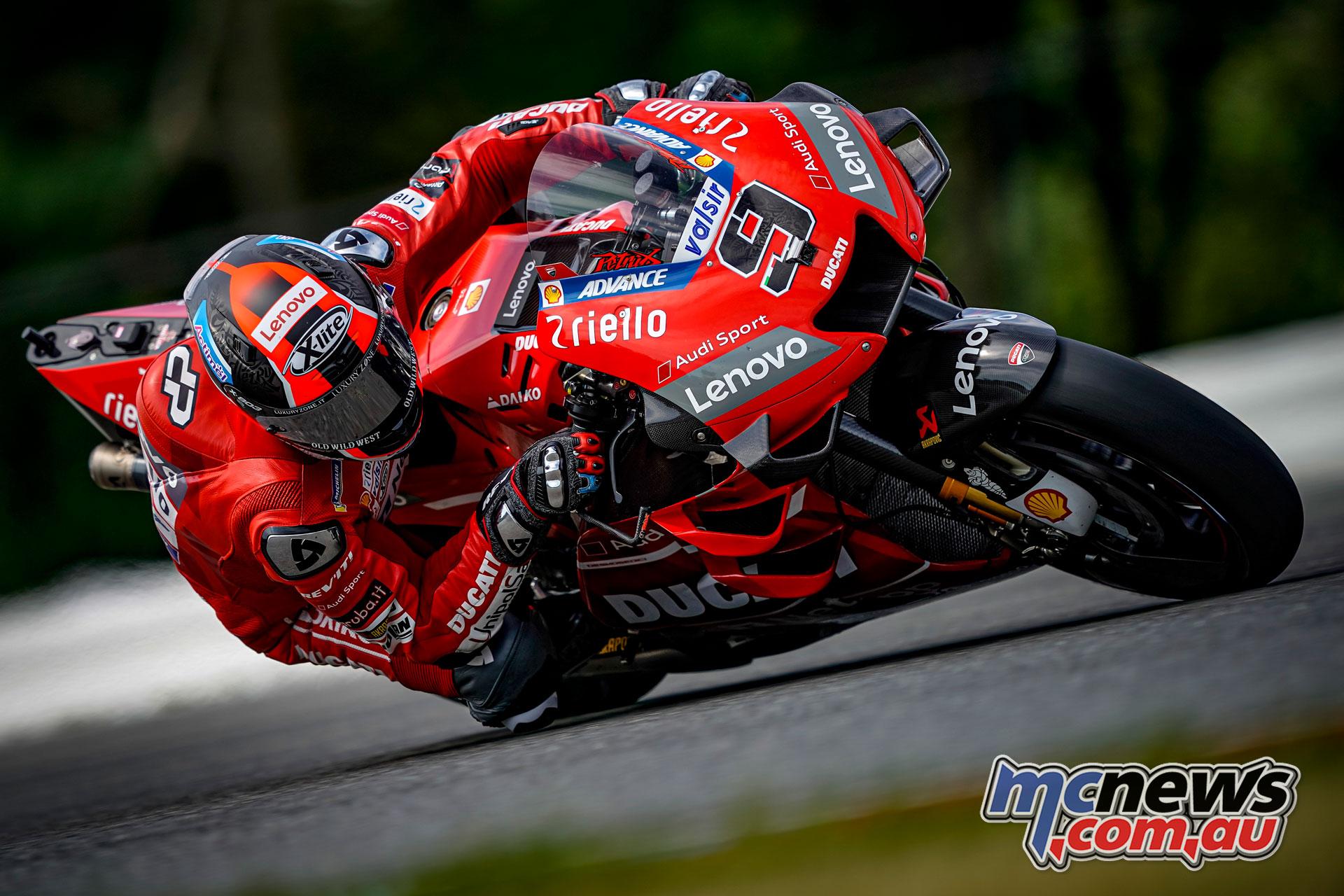 MotoGP Brno Test Danilo Petrucci
