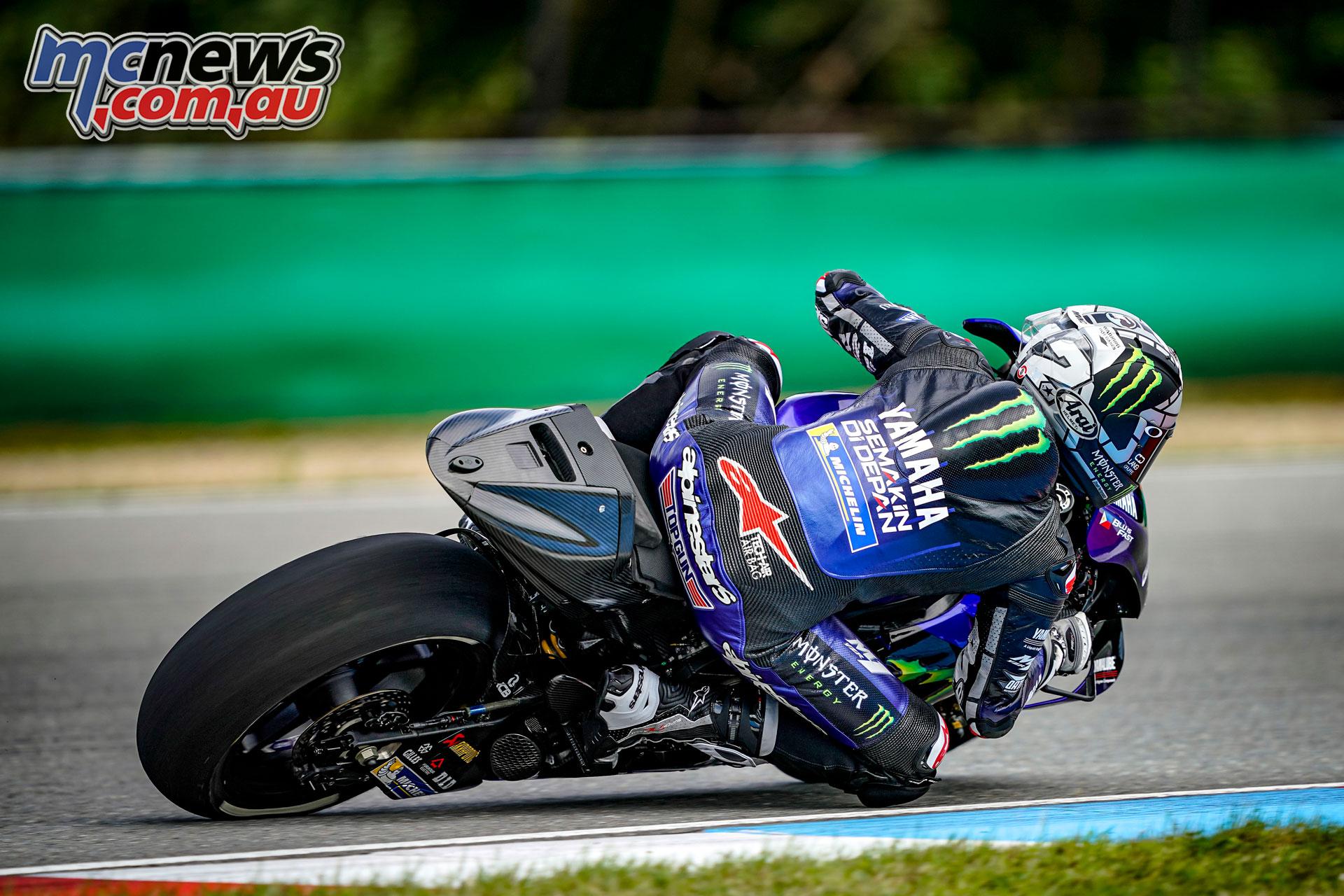 MotoGP Brno Test Maverick Vinales