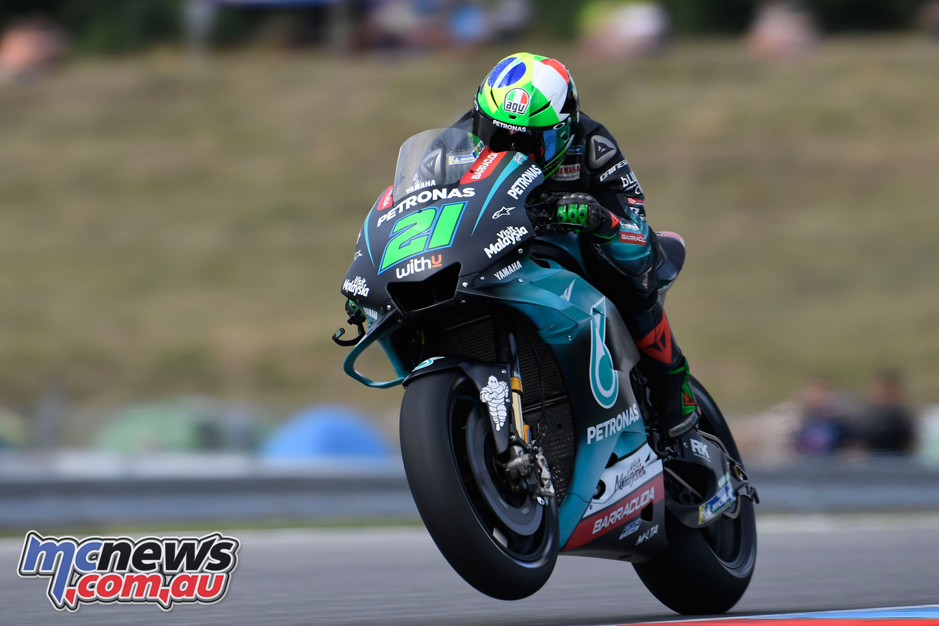 MotoGP Brno Test Morbidelli