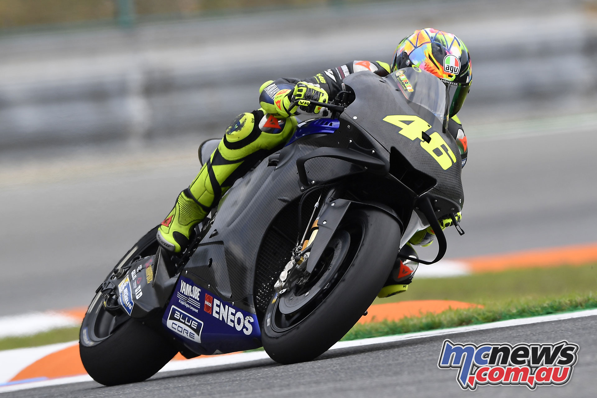 MotoGP Brno Test Rossi