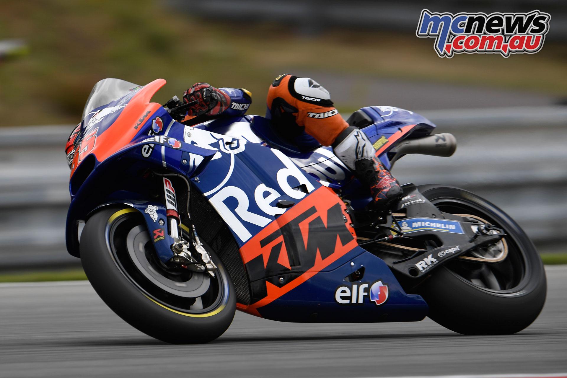 MotoGP Brno Test Syahrin Brno