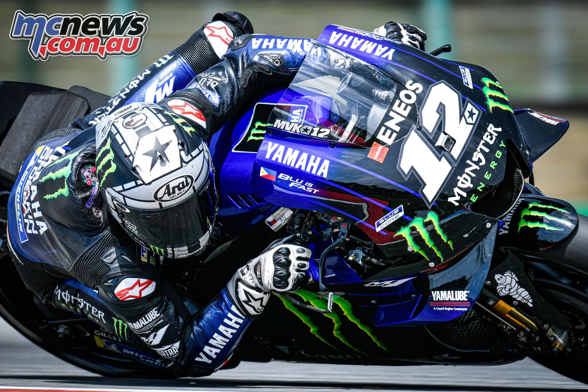 MotoGP Brno Test Vinales