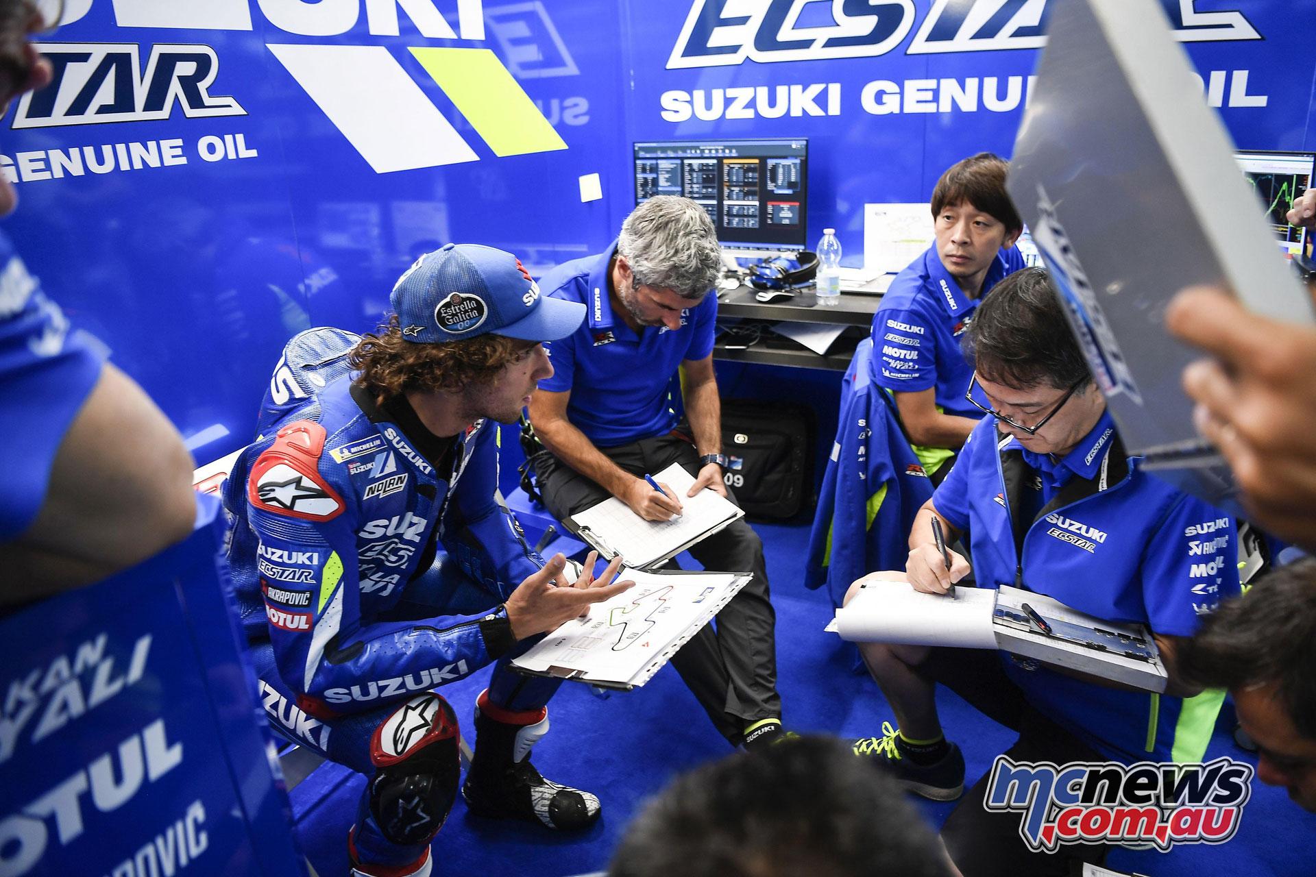 MotoGP Brno Test alex rins