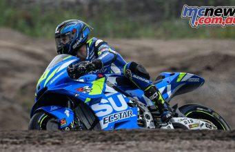 MotoGP KymiRing Test Day Guintoli