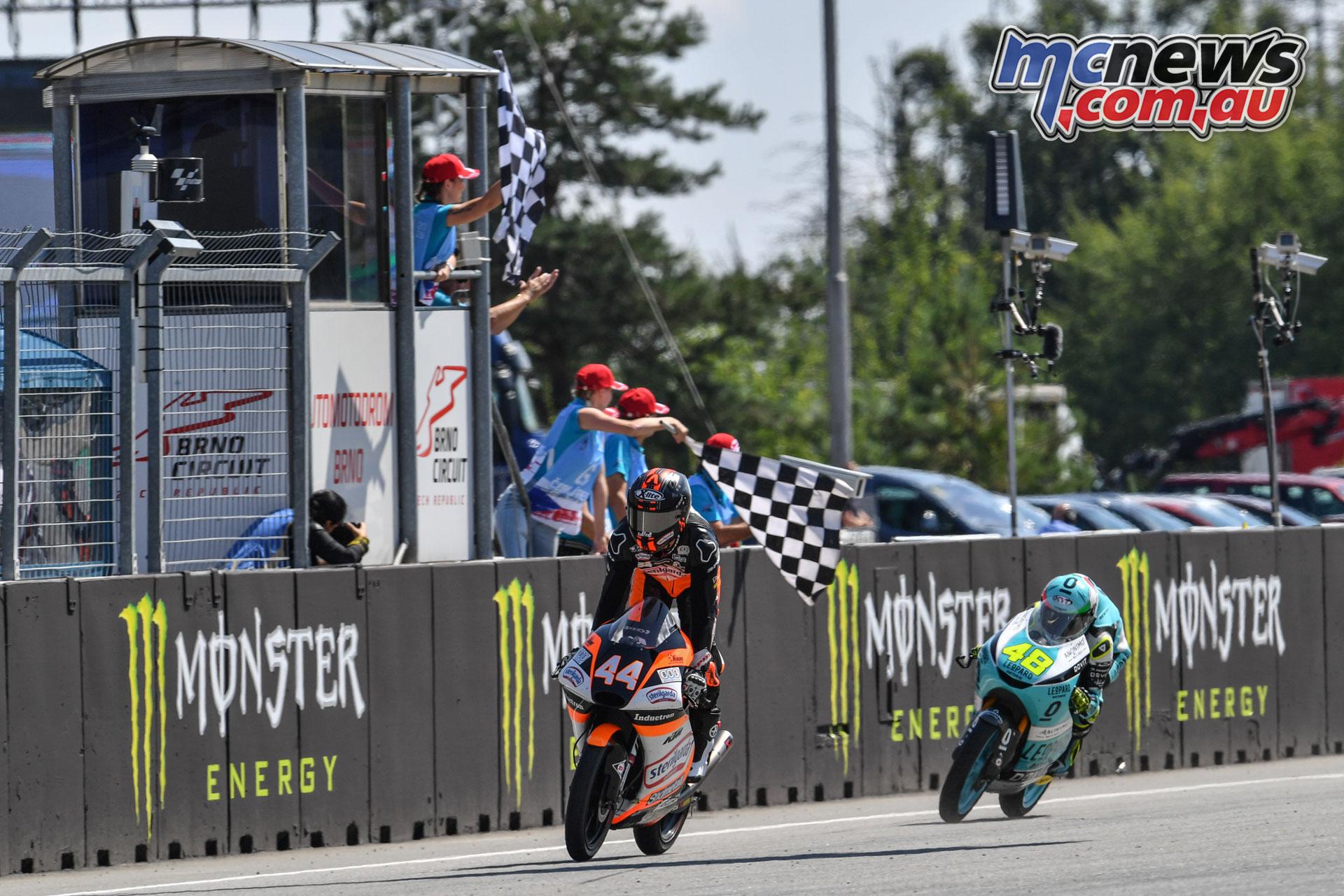 MotoGP Rnd Brno Moto Aron Canet