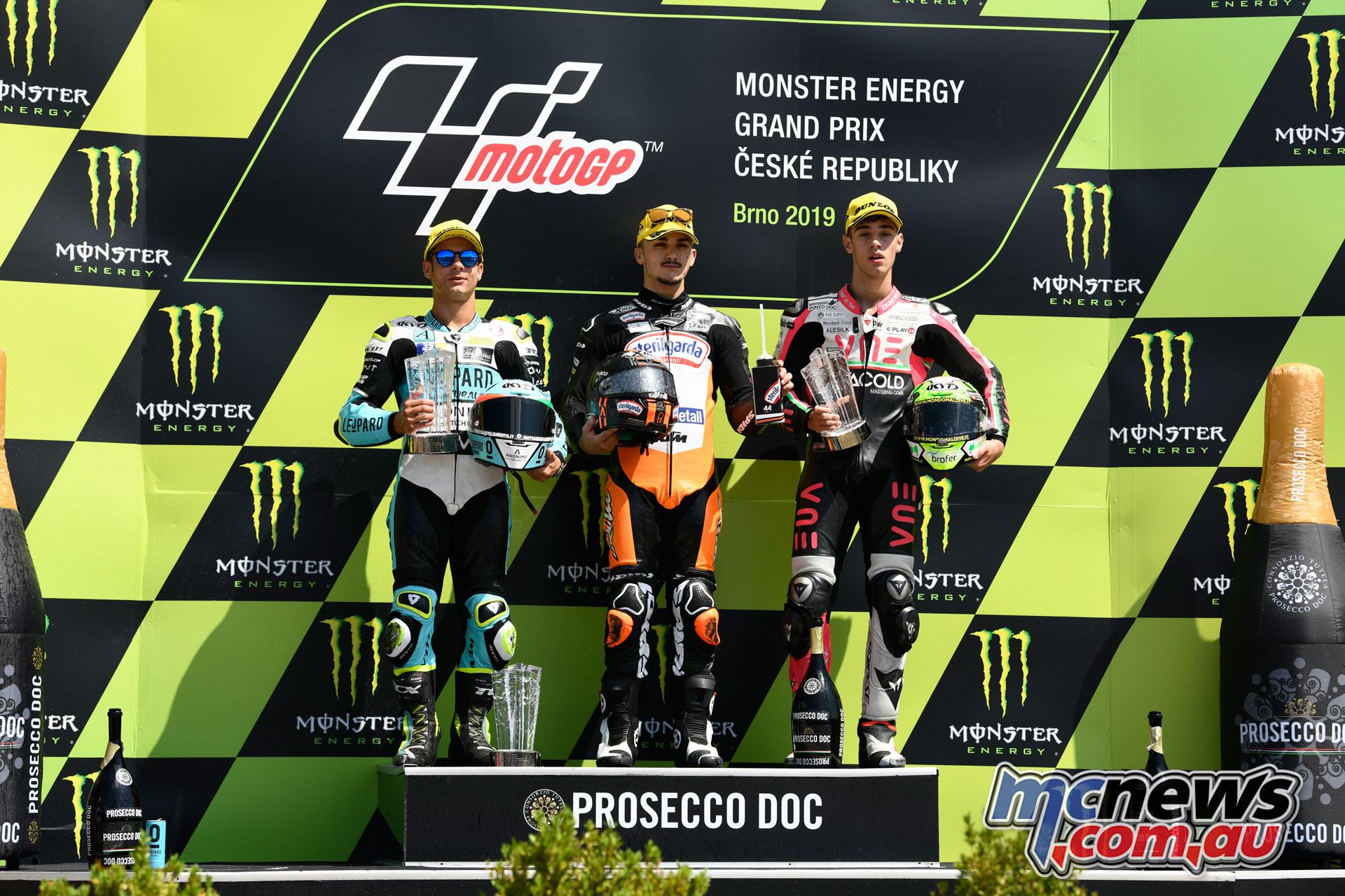 MotoGP Rnd Brno Moto Podium
