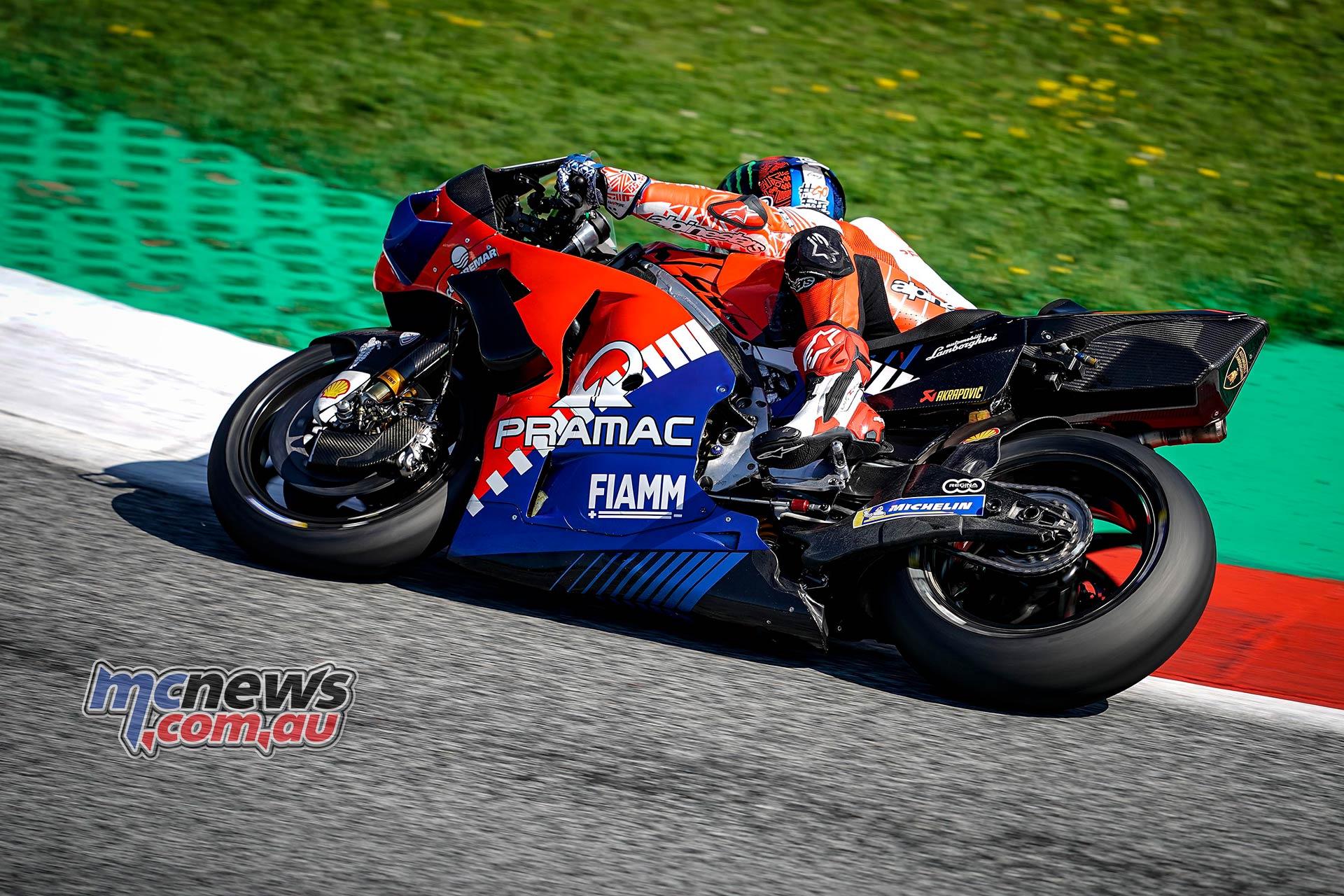 MotoGP Rnd Austria QP Bagnaia
