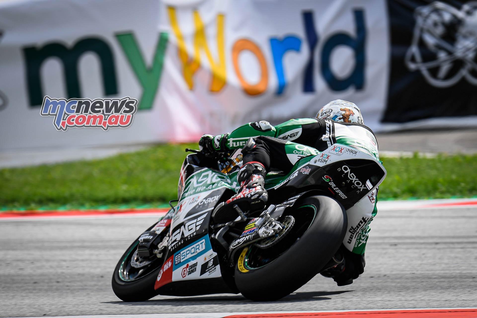 MotoGP Rnd Austria QP Moto Tetsuta Nagashima