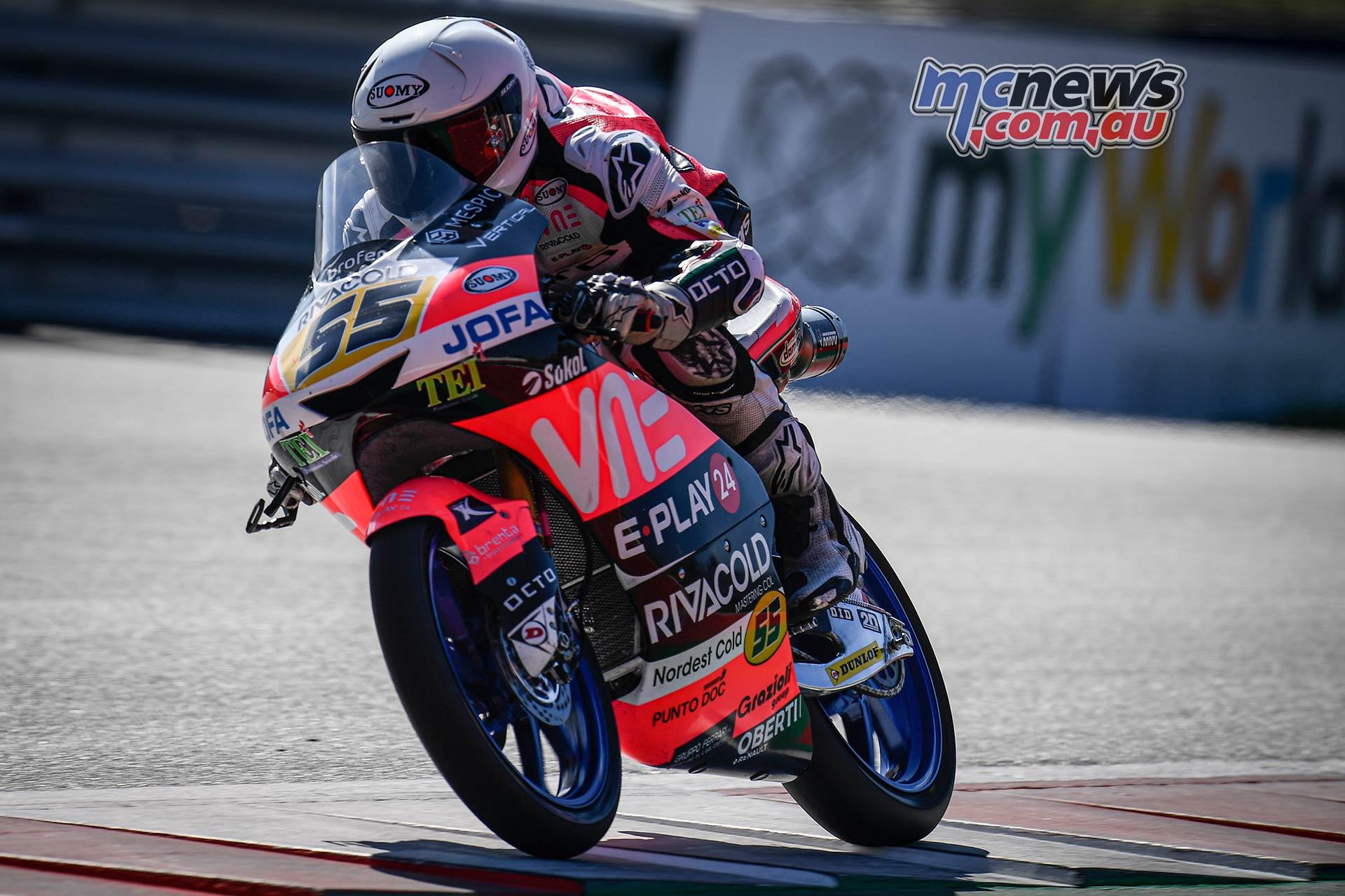 MotoGP Rnd Austria QP Moto Romano Fenati