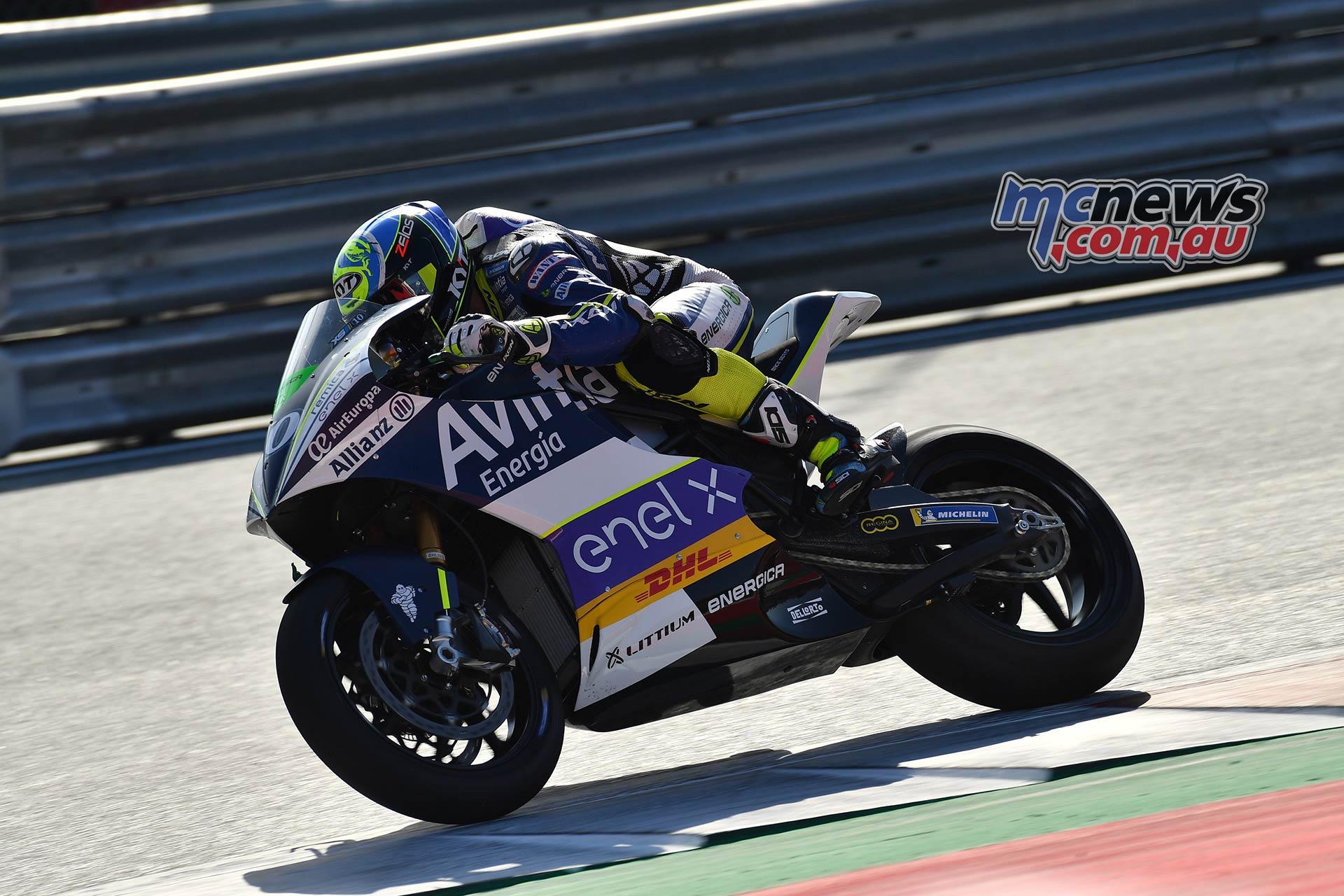 MotoGP Rnd Austria QP MotoE Simeon