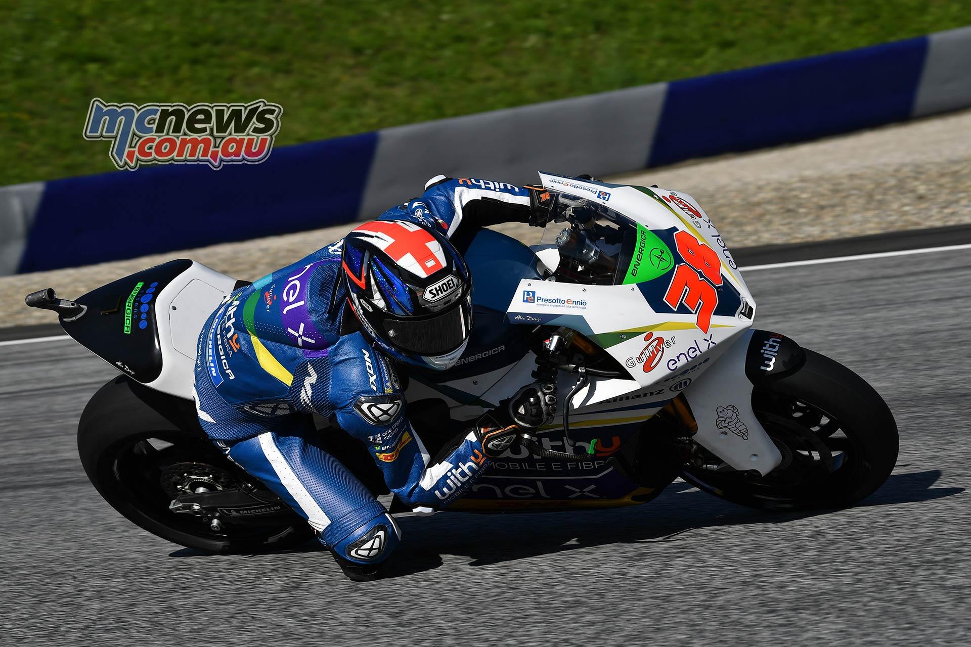 MotoGP Rnd Austria QP MotoE Smith