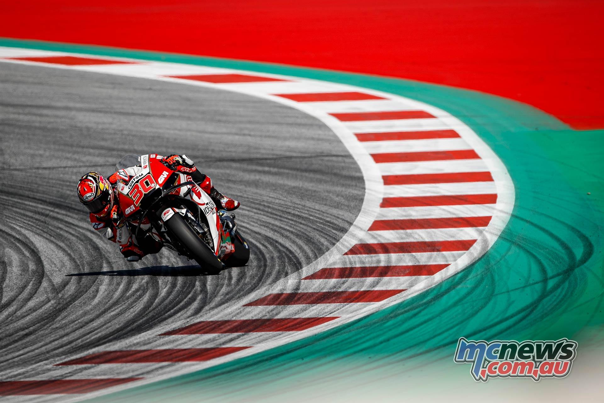 MotoGP Rnd Austria QP Nakagami
