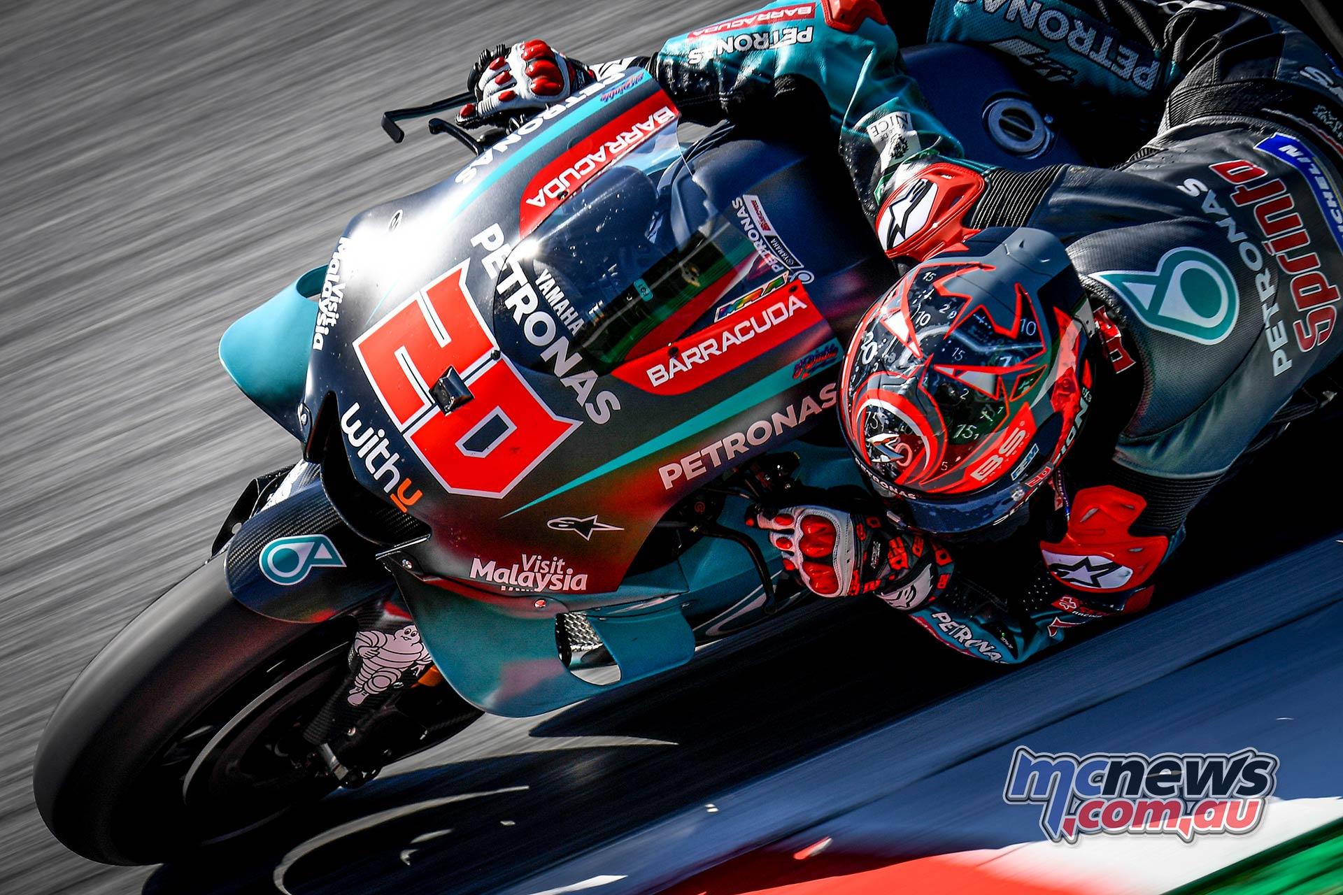 MotoGP Rnd Austria QP Quartararo