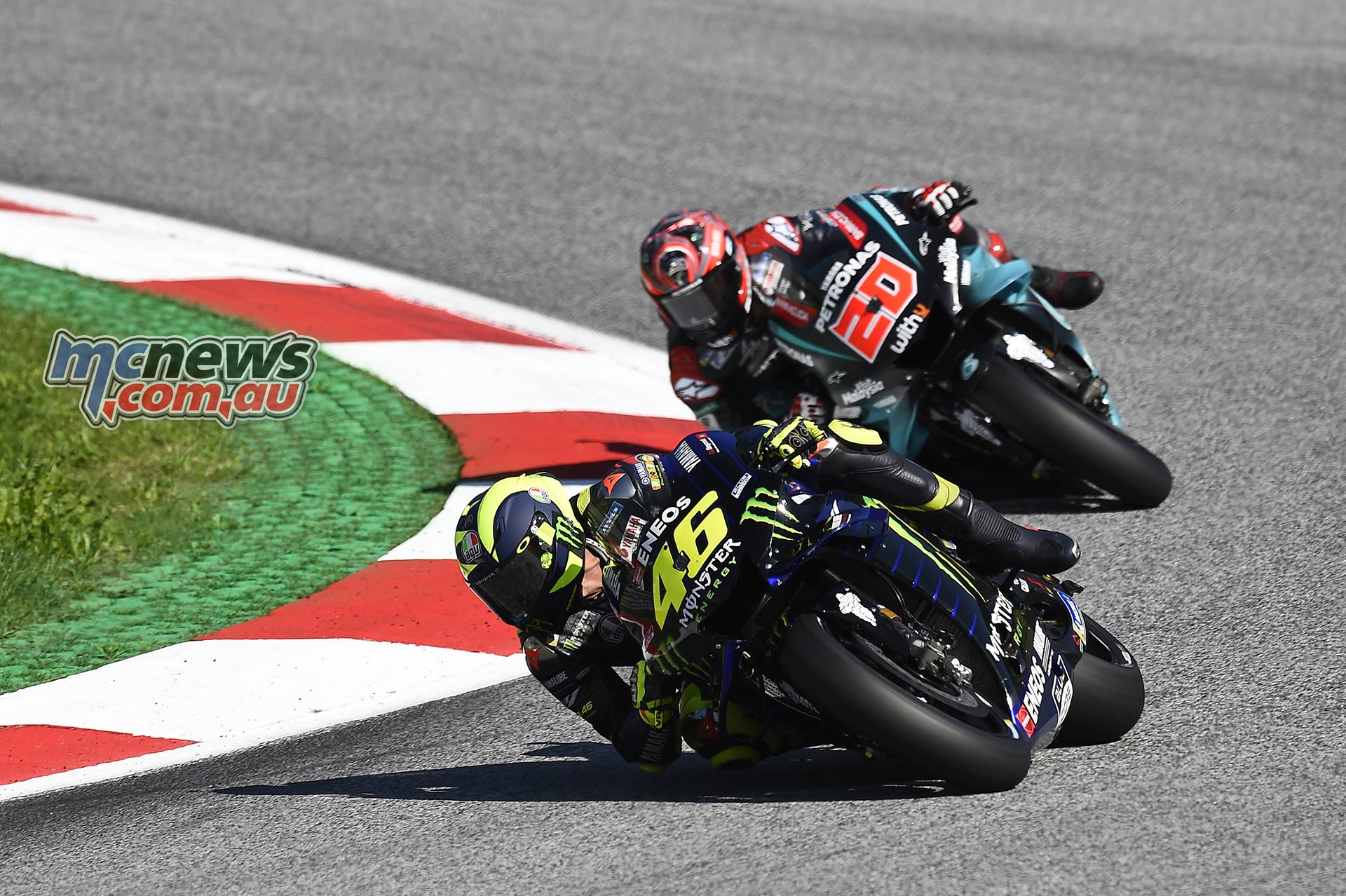 MotoGP Rnd Austria QP Rossi Quartararo