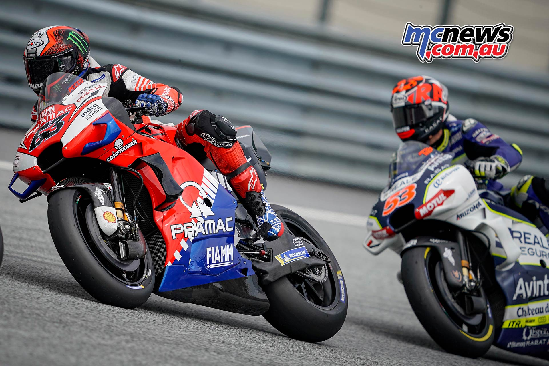 MotoGP Rnd RedBullRing Race Bagnaia Rabat