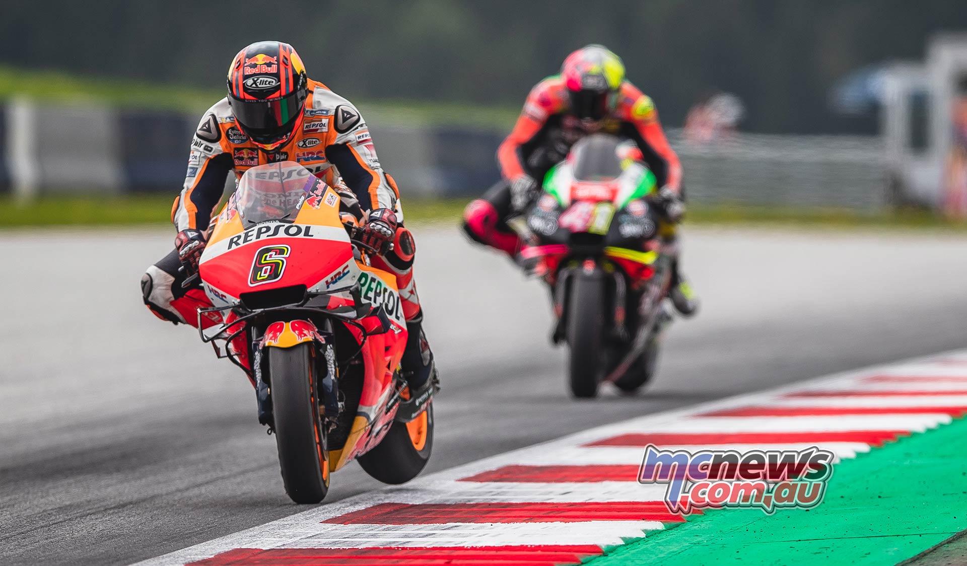 MotoGP Rnd RedBullRing Race Bradl Aleix Espargaro