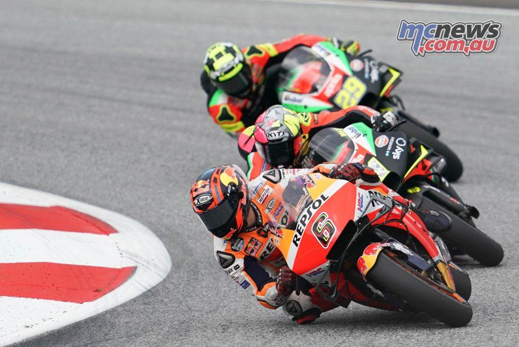 MotoGP Rnd RedBullRing Race Bradl Espargaro Iannone