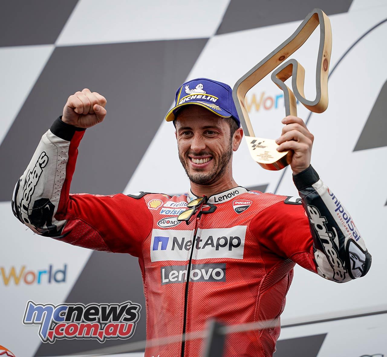 MotoGP Rnd RedBullRing Race Dovizioso Trophy