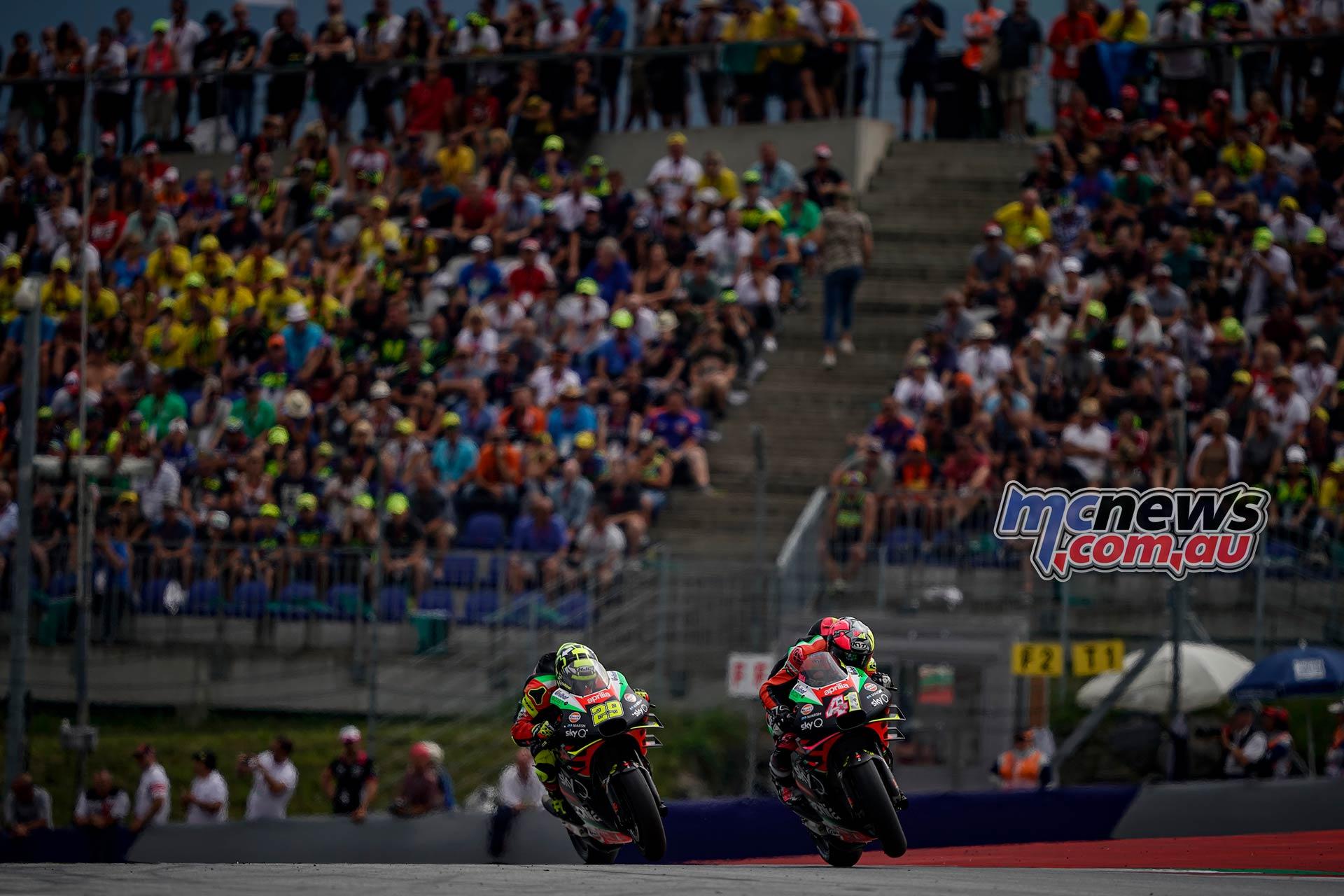 MotoGP Rnd RedBullRing Race Espargaro Iannone