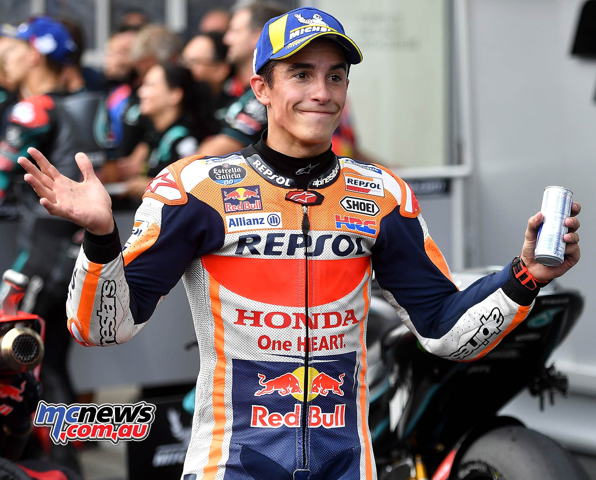 MotoGP Rnd RedBullRing Race Marquez ParcFerme