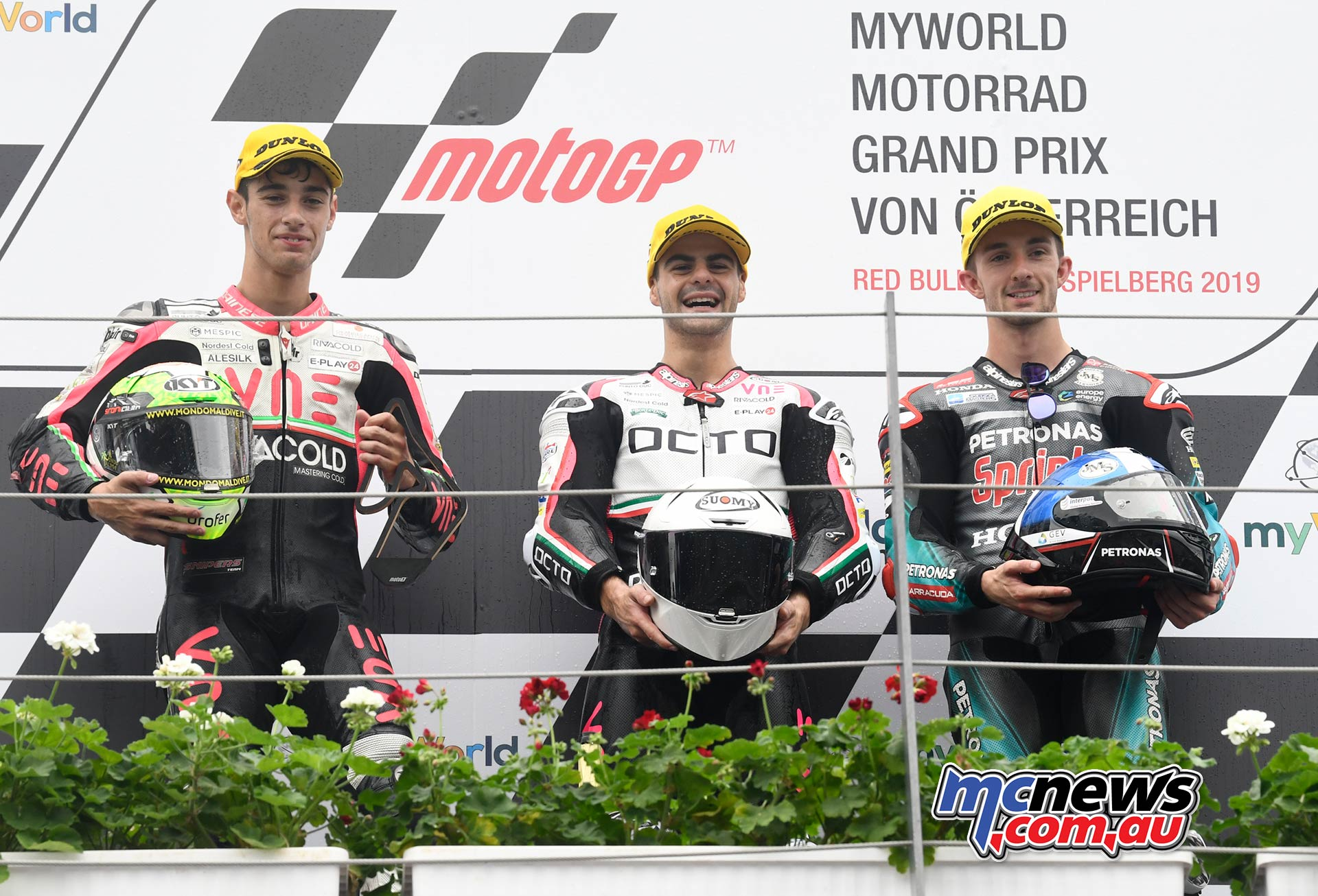 MotoGP Rnd RedBullRing Race Moto Arbolino Fenati McPhee