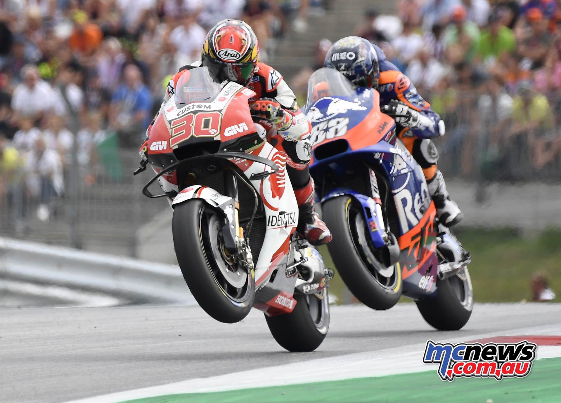 MotoGP Rnd RedBullRing Race Nakagami Oliveira