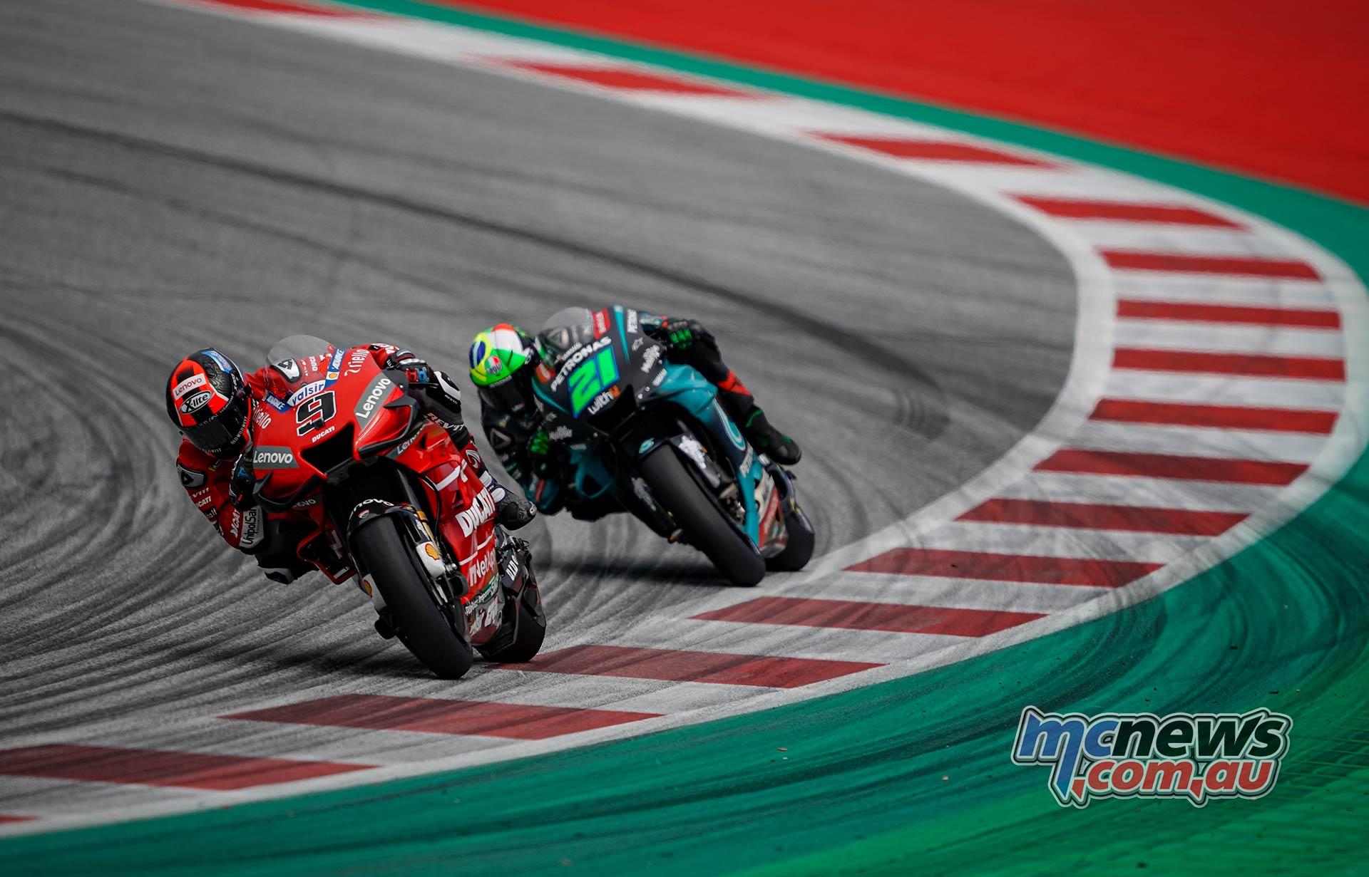 MotoGP Rnd RedBullRing Race Petrucci Morbidelli