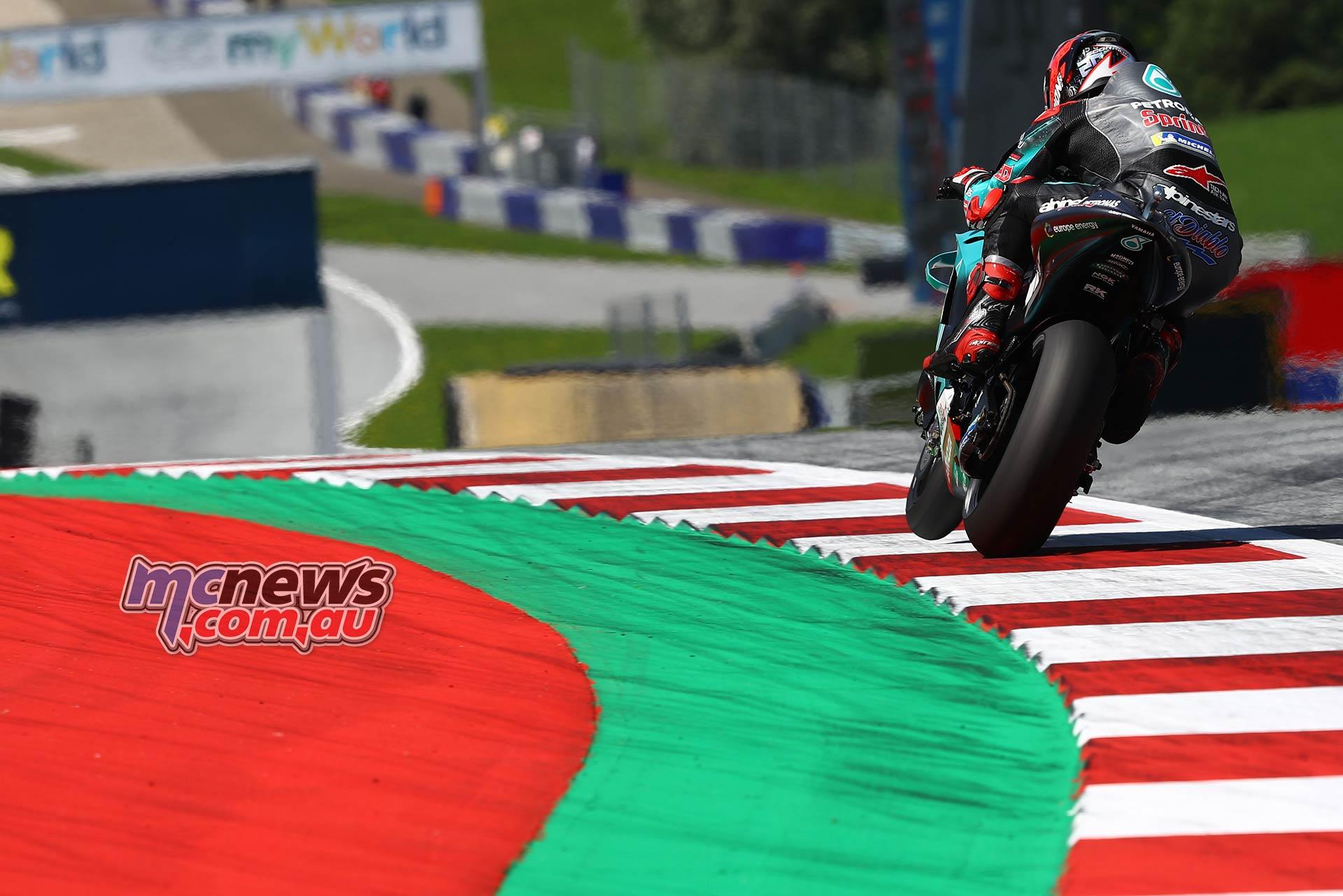MotoGP Rnd RedBullRing Race Quartararo