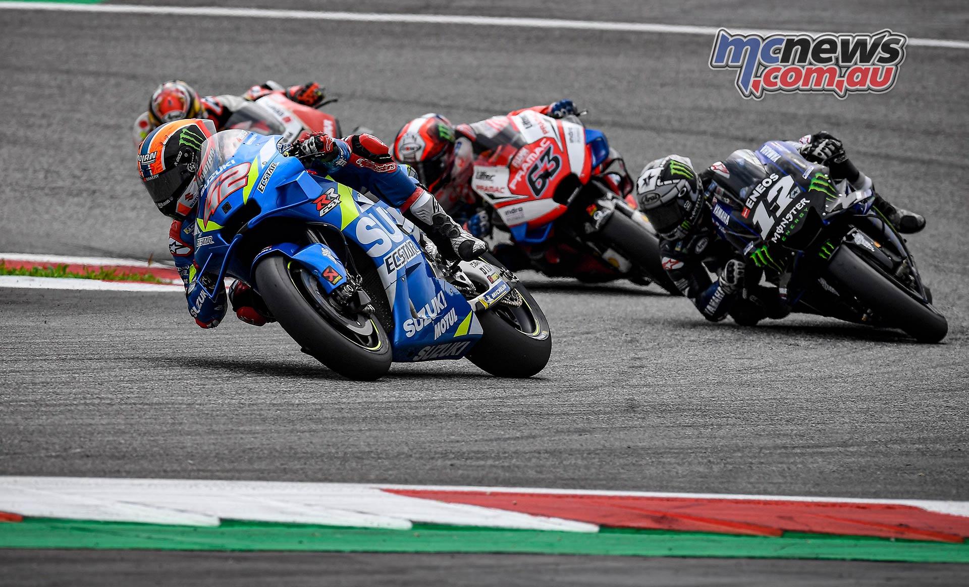 MotoGP Rnd RedBullRing Race Rins Vinales Bagnaia Nakagami