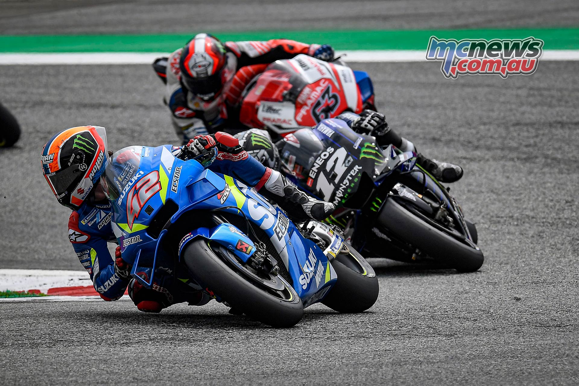 MotoGP Rnd RedBullRing Race Rins Vinales Bagnaia