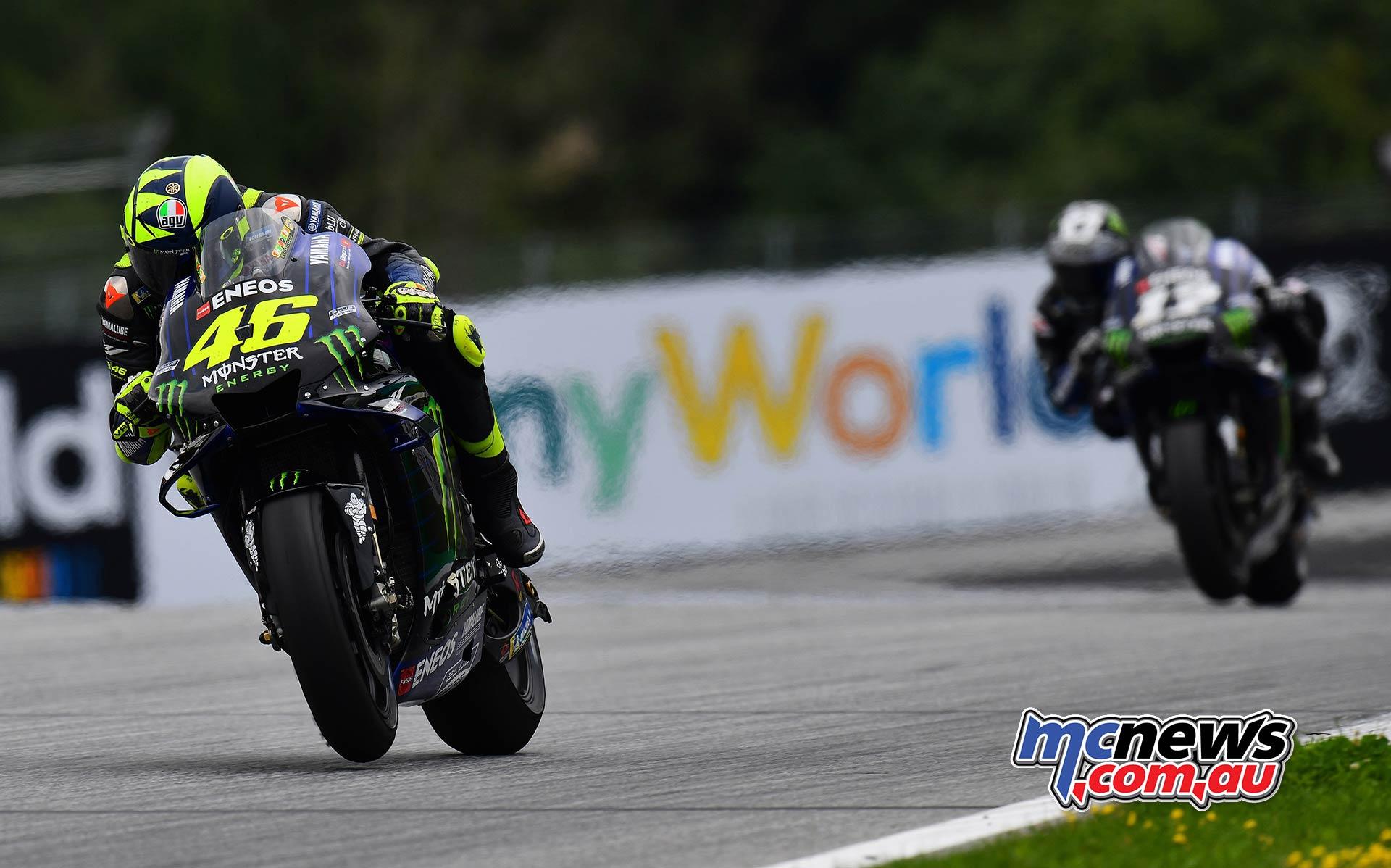 MotoGP Rnd RedBullRing Race Rossi Vinales