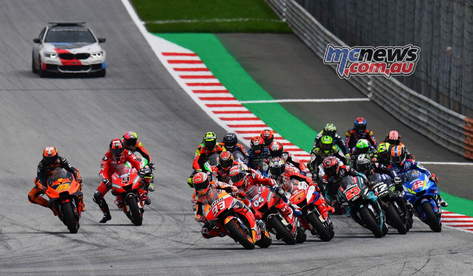 MotoGP Rnd RedBullRing Race Start